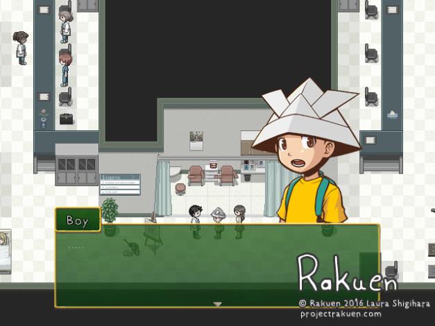 Rakuen - Boy reacts to Jacky